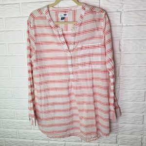 Old Navy Tunic Top Size XL Shirt Popover Pocket